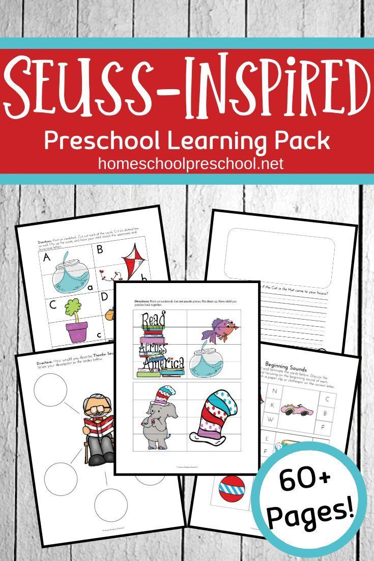 Dr Seuss Worksheets For Preschoolers Dr Seuss Preschool Activities Dr Seuss Activities Dr Seuss Preschool [ 1102 x 735 Pixel ]