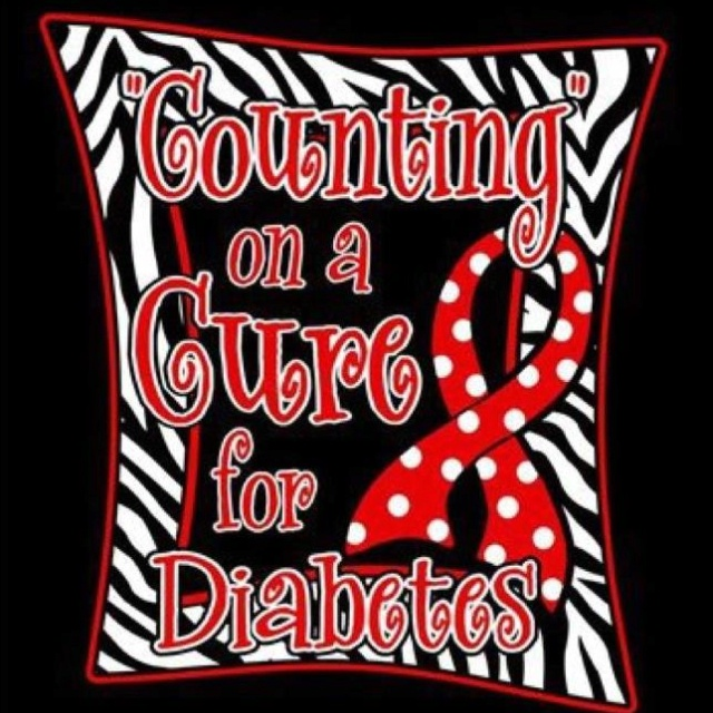 Cure for Diabetes Shirt... Email me for orders.  Kodaryan@hotmail.com