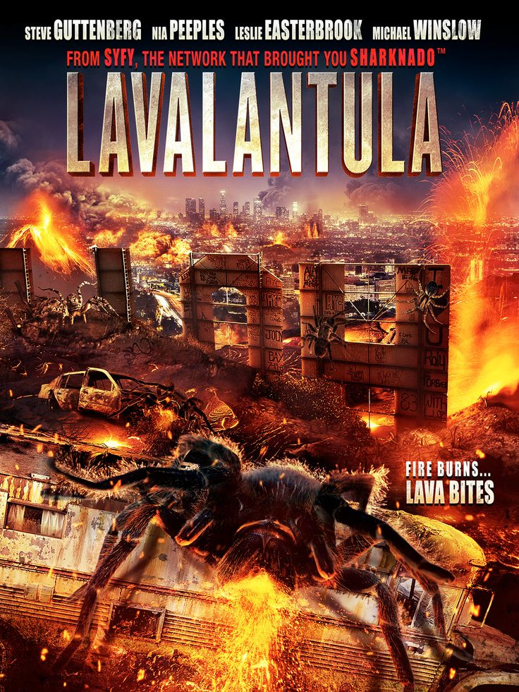 'Lavalantula' Erupts onto DVD This November