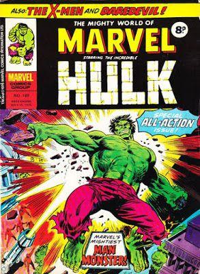 Mighty World of Marvel #189, the Hulk