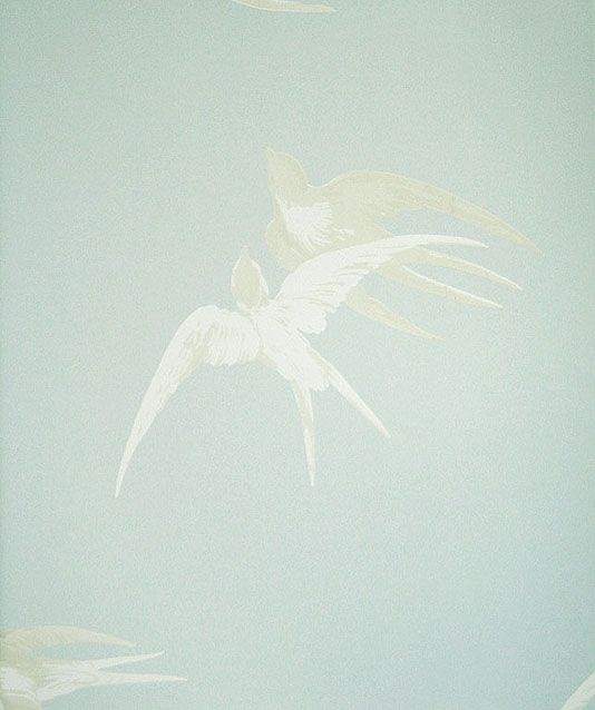 Swallows Wallpaper  £38 per roll: Painting Wal Ideas, Grey Sky, Swallows Wallpapers, Wallpapers Elegant, Silver Grey, Elegant Design, Prints Wallpapers, Phones Wallpapers, 1930S Design