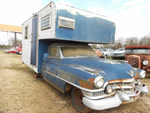 1951 Cadillac Camper = Very Rare 1 off + Project 4 restro For Sale
