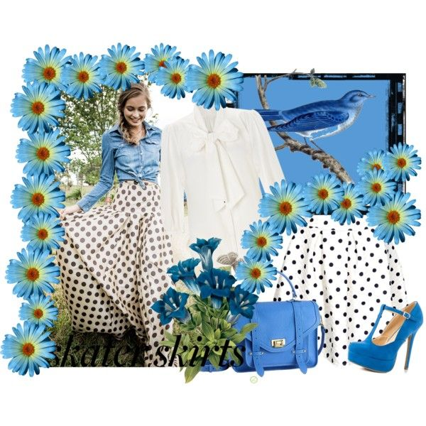 """blue skater"" by inculori on Polyvore"