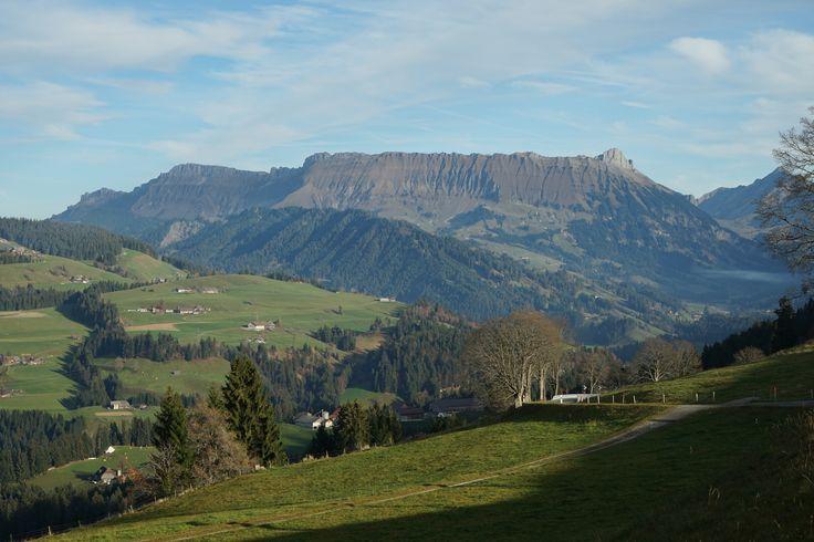 Schweiz Bern Schallenberg Herbst Natur Pass