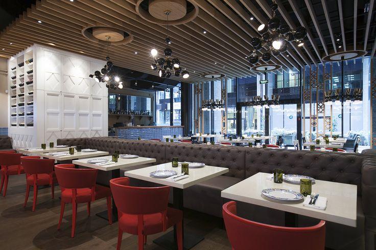 Trattoria Siciliana - Лучший интерьер ресторана, кафе или бара | PINWIN - конкурсы для архитекторов, дизайнеров, декораторов