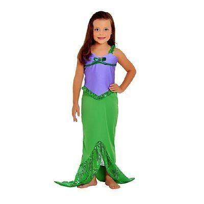 Se a princesinha lá de casa quer ser uma sereia, veja tudo o que precisa para conseguir montar esta fantasia :) #fantasias #carnaval