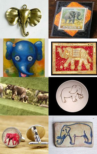 God save the elephants! by Przemila K on Etsy--Pinned with TreasuryPin.com