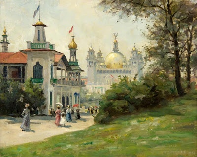 Harry Spence - View of the Glasgow International Exhibition 1901