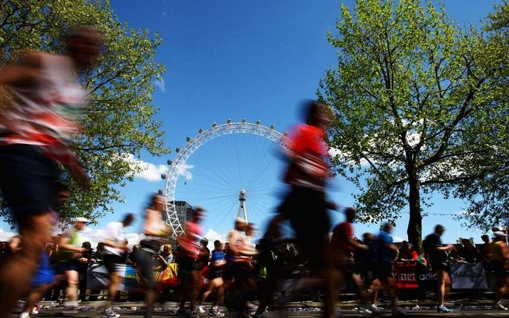 With Paula Radcliffe running this year's Virgin Money London Marathon on   Sunday April 26, interest will be as high as ever. Here we offer a guide for   spectators including the date, route, map, times and suggested viewing   points. Click on the mile markers for more