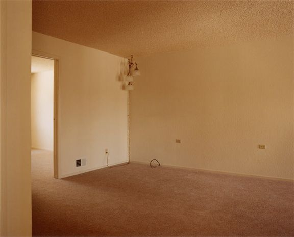'Foreclosed Homes' by Todd Hido  Empty Room