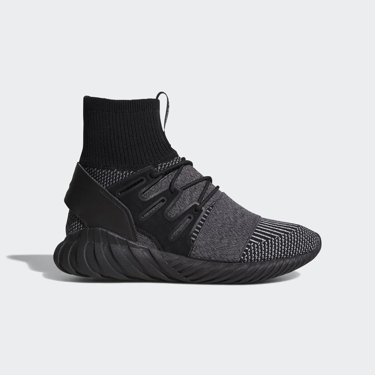 Born as a '90s runner, the Tubular continues to push boundaries with an avant-garde take on sports style. The sock-like adidas Primeknit upper of these men's shoes features reflective knitting on top. Wide elastic straps with laces multitask as they provide a secure fit and a fashion-forward look. Riding on a lightweight EVA outsole, these progressive street sneakers are anchored by a premium leather heel counter.