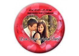 Svadobné oznámenie magnet - SM011