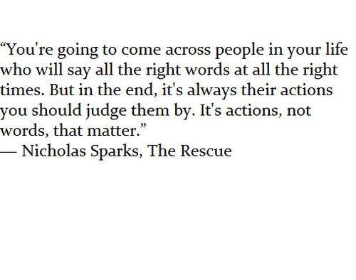 Nicholas Sparks, The Rescue
