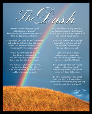 This is a photo of Crazy The Dash Poem Printable Pdf