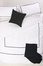 100% COTTON BORDER DUVET COVER SET