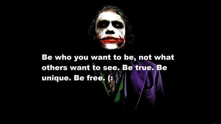 Joker Life Quotes Audience Joker Artist Performer Confidence Life