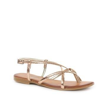 Rosé gouden sandalen | P.I.U.R.E. | Brantano
