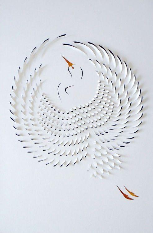 paper-1-640x974.jpg (art,craft,paper,cutting,bird,heron,crane)