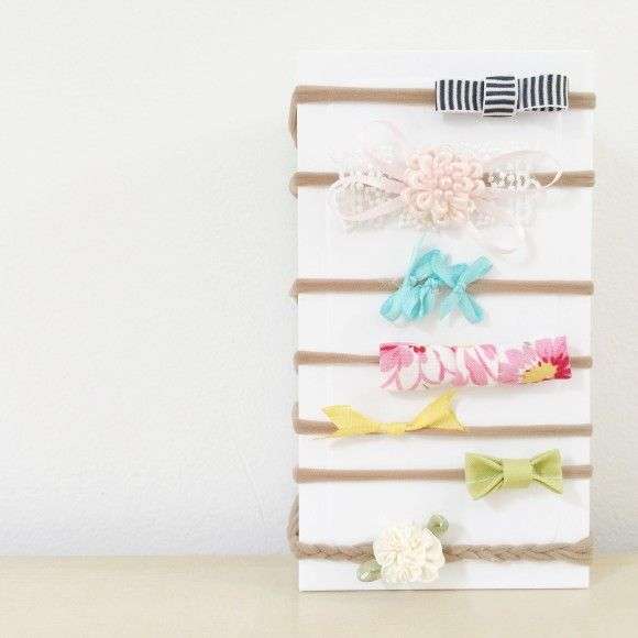 DIY Baby Headbands.  Such a quick, easy, and affordable project.  Love this!  So cute.