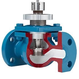 DFT's control valve offers a straight-thru design with a non obstructed flow with no abrupt changes in the flow path. See our highlighted features.