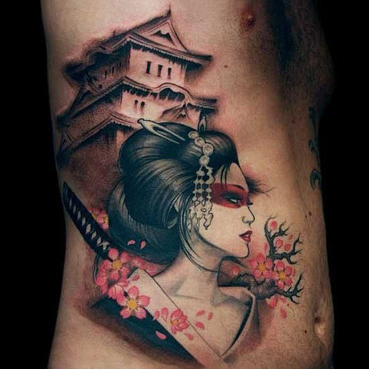Japanese geisha tattoo japanese tattoos japanese - Tattoos geishas japonesas ...