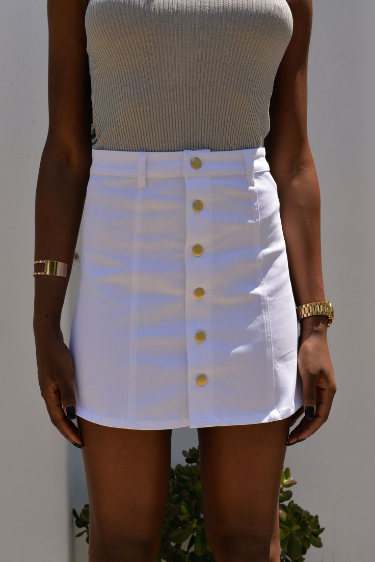 the 25 best ideas about white denim skirt on