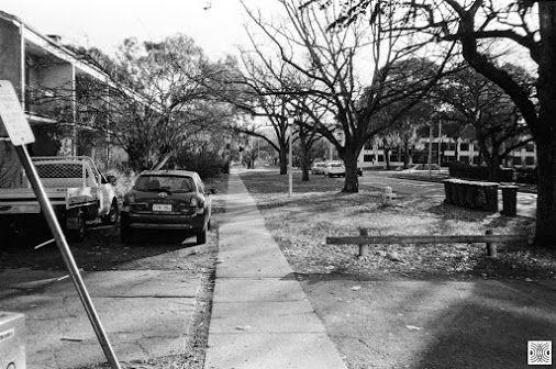My Canberra - on film mainly Braddon, Elouera St, back in 2015  Olympus XA, Kodak T-Max 100  www.pavelvrzala.com  #Australia #Canberra #Braddon #Kodak #TMax100 #film #Olympus #XA