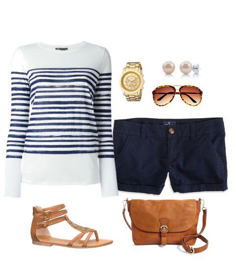 Süße Outfit-Ideen der Woche # 55 – Shorts Outfits   – Summer short set