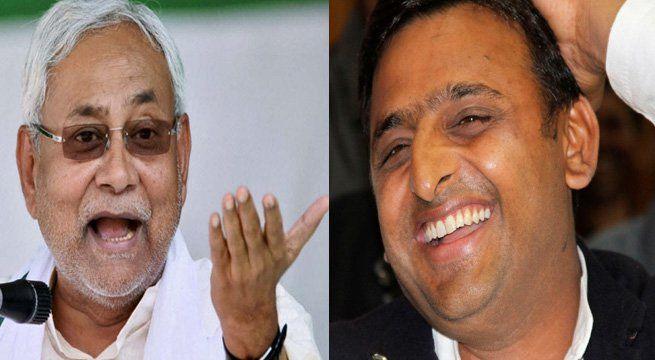 "Lucknow: Samajwadi Party supremo Akhilesh Yadav on Thursday struck a musical note to mock JD(U) president Nitish Kumar for again allying with the BJP to become chief minister. ""Na na karte pyar tumhi se kar baithe, karna tha inkar magar ikrar tumhi se kar baithe. Bihar today,""..."