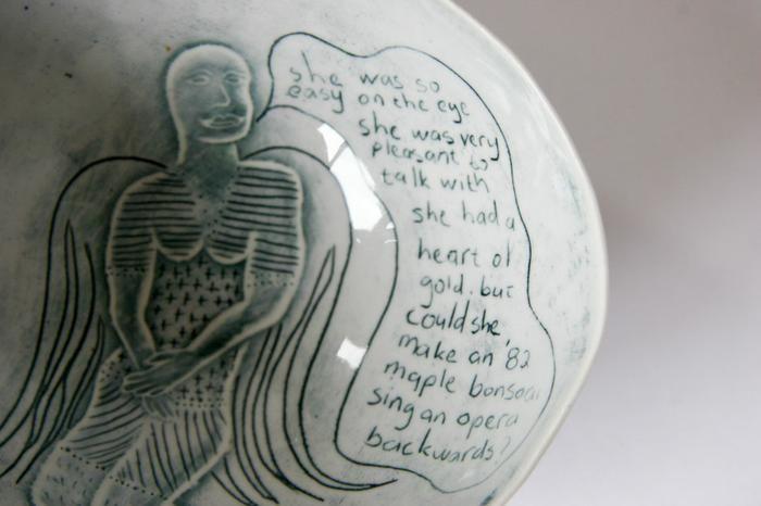 John Bauer Ceramic and Porcelain Art - Ceramic and Porcelain - Porcelain Bowls, 2006