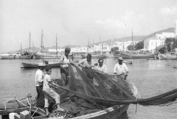 fishermen at old Tinos- Greece  see more at https://www.facebook.com/tinoshabitart?ref=hl