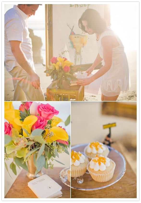 Intimate Vow Renewal Cute Idea