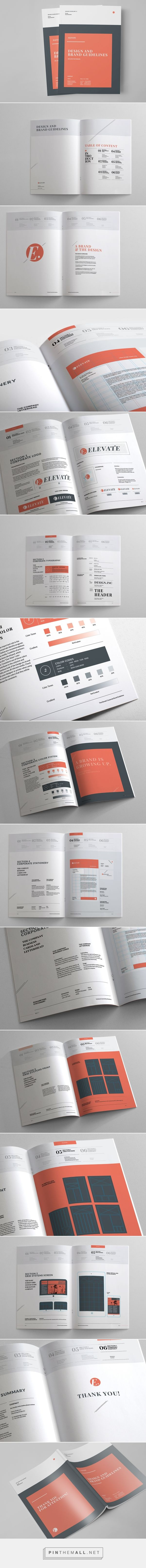 Brand Manual & Guidelines on Behance