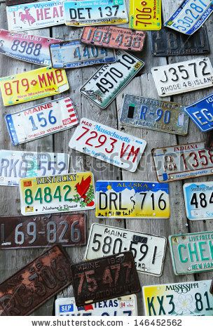 license plate wall cover - Google Search