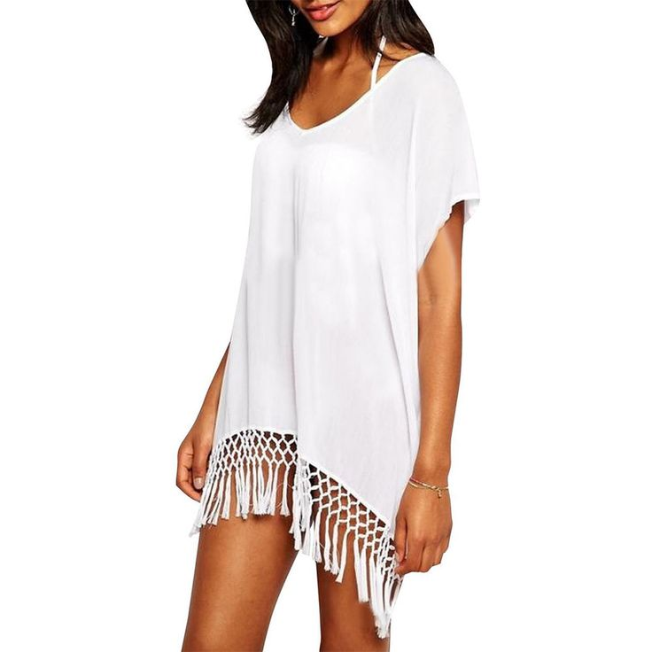 Übergröße Damen Beachwear Kleid Bikini Bademode Bedecken Häkel Badeanzug in Kleidung & Accessoires, Damenmode, Bademode | eBay!