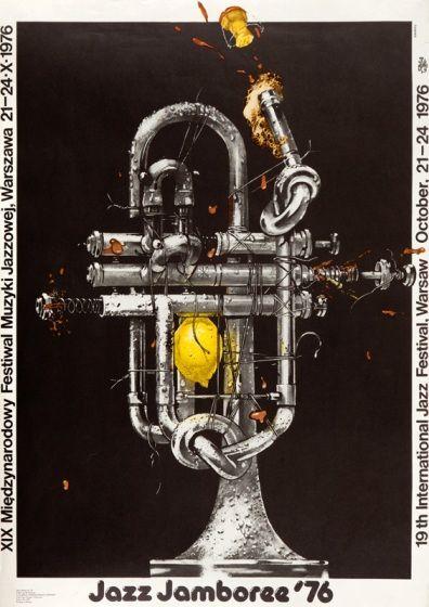 Poster Plakat Waldemar Świerzy Jazz Jamboree '76