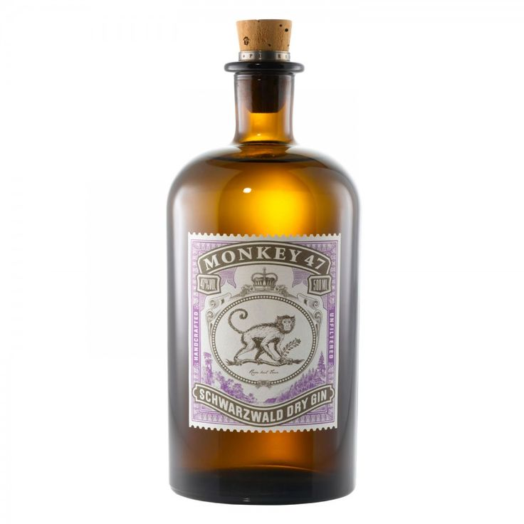 Monkey 47 Gin; 47 Botanical's from the lack forest / 47% vol