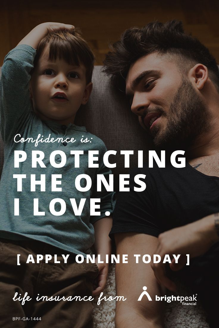 Feel confident knowing your loved ones are protected with Term Life Insurance.