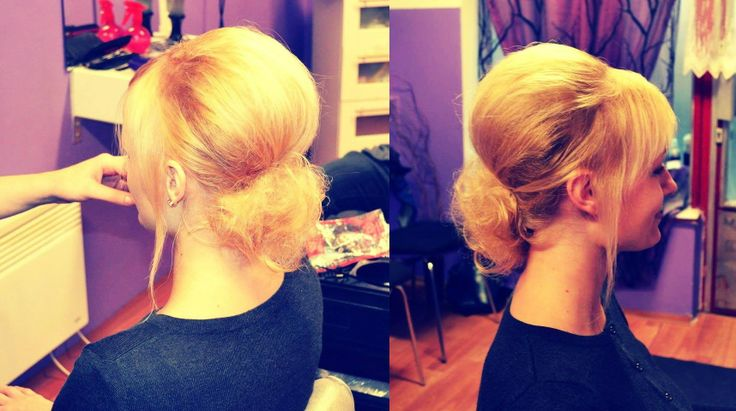 Hairstyle for fashion show