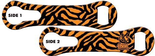V-RODTM Bone Bottle Opener and Pour Spout Remover: Animal Print: Leopard - Orange by Ink Correct. $8.99. Bottle Opener & Pour Spout Remover  The revamped, sleek and multifunctional new version of the original Bartender's Bottle Opener, the V-RODTM Opener is the latest and greatest addition to our line of Killer Bartender Gear. The bone shaped design  features an ergonomic grip and an additional groove on the ring end that allows for the easy removal of pour spouts from bottles....