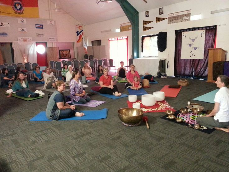 Great Sound healing session with a group of approx. 20 people at the community day last weekend.