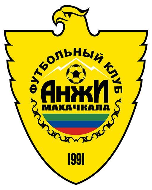 "Football Club Anzhi Makhachkala (Футбо́льный клуб ""Анжи"" Махачкала) | Country: Russia / Россия. País: Rusia. | Founded/Fundado: 1991 | Badge/Crest/Logo/Escudo."