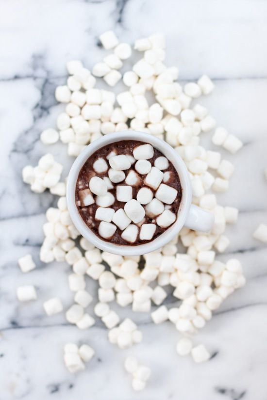 Hot Chocolate ♥ mmmm.... baby girl wants.... maybe its the Shmellows like her daddy...
