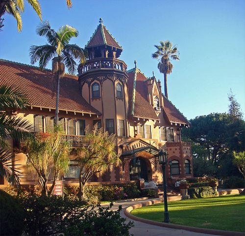 Doheny Mansion @ Mount St. Mary's College