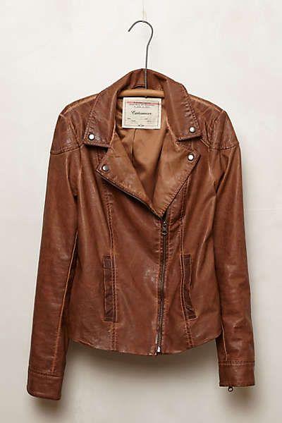 Anthropologie - Fayette Vegan Leather Jacket