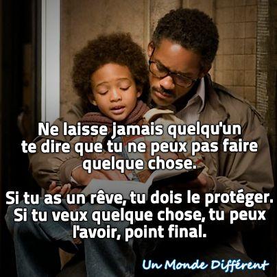 """Citation du film """"À La Recherche du Bonheur"""""""
