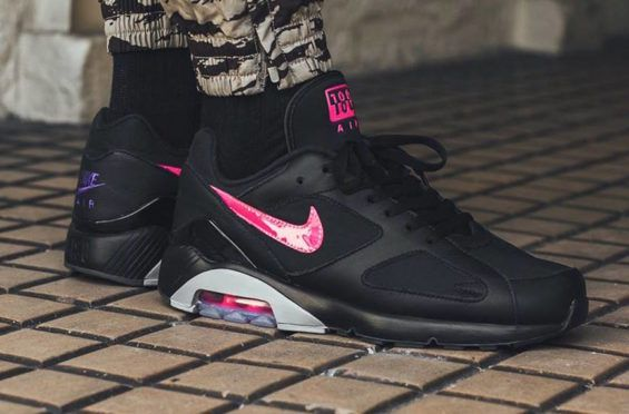 581e5311f9 The Nike Air Max 180 Black Pink Blast Shines This Summer | Dr Wongs  Emporium of Tings | Nike Air Max, Sneakers nike, Nike air