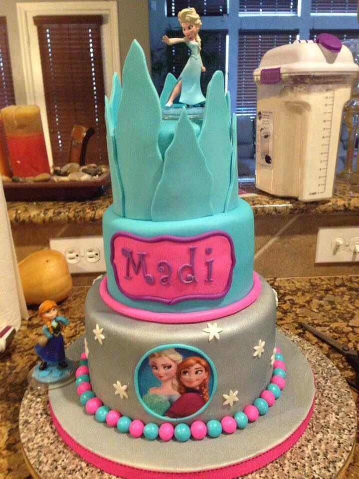 109 best Frozen cakes images on Pinterest Frozen party Frozen
