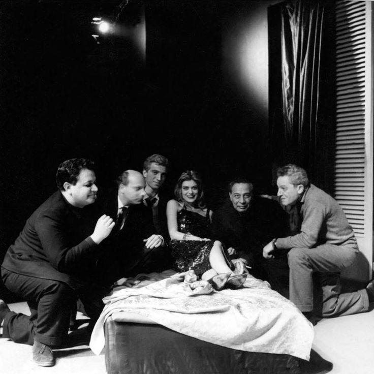 M.X., Μάριος Πλωρίτης, Γιάννης Φέρτης, Μελίνα Μερκούρη, κάρολος Κουν, Jules…