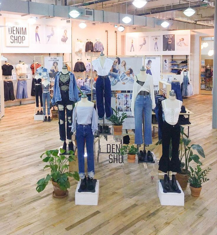 """87.5k Likes, 124 Comments - Urban Outfitters (@urbanoutfitters) on Instagram: """"ICYMI: All BDG denim is now buy one, get one 50% off in stores and online. 💙 @UODallas #UODisplay"""""""